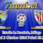 Prediksi Skor Malaga Vs Athletic Bilbao 2 Oktober 2016