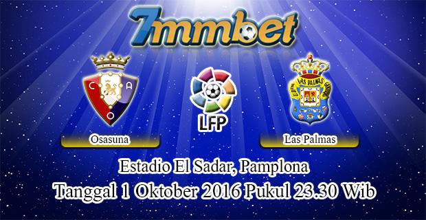 Prediksi Skor Osasuna Vs Las Palmas 1 Oktober 2016