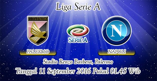 Prediksi Skor Palermo Vs Napoli 11 September 2016