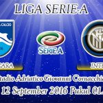 Prediksi Skor Pescara Vs Inter Milan 12 September 2016