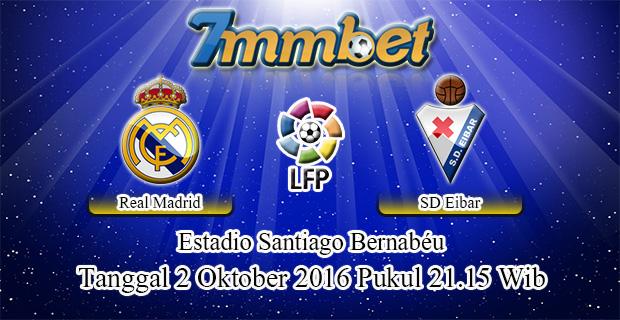 Prediksi Skor Real Madrid Vs Eibar 2 Oktober 2016