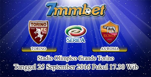 Prediksi Skor Torino Vs AS Roma 25 September 2016