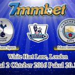 Prediksi Skor Tottenham Hotspur Vs Manchester City 2 Oktober 2016