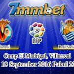 Prediksi Skor Villarreal Vs Real Sociedad 18 September 2016