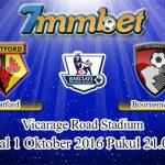 Prediksi Skor Watford Vs Bournemouth 1 Oktober 2016