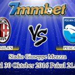 Prediksi Skor AC Milan Vs Pescara 30 Oktober 2016