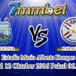 Prediksi Skor Argentina Vs Paraguay 12 Oktober 2016