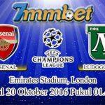 Prediksi Skor Arsenal Vs Ludogorets 20 Oktober 2016