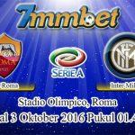 Prediksi Skor AS Roma Vs Inter Milan 3 Oktober 2016
