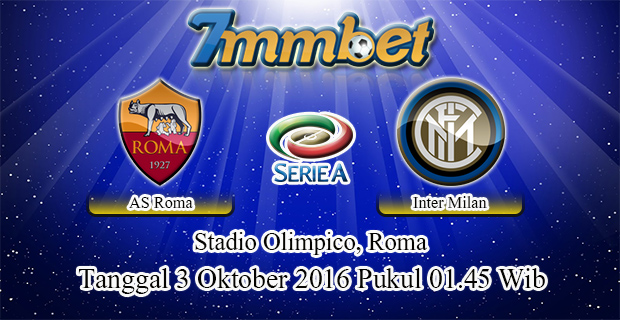 Prediksi Skor AS Roma Vs Inter Milan 3 Oktober 2016