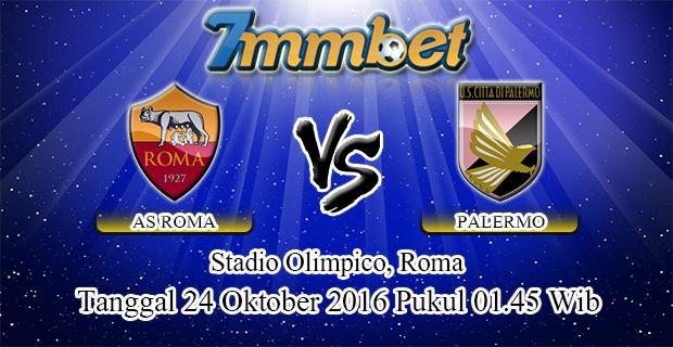 Prediksi Skor AS Roma Vs Palermo 24 Oktober 2016