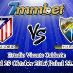 Prediksi Skor Atletico Madrid Vs Malaga 29 Oktober 2016