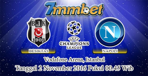 Prediksi Skor Besiktas Vs Napoli 2 November 2016