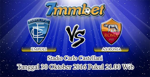 Prediksi Skor Empoli Vs AS Roma 30 Oktober 2016