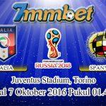 Prediksi Skor Italia Vs Spanyol 7 Oktober 2016
