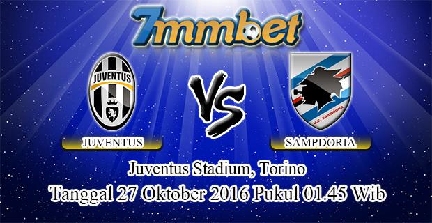 Prediksi Skor Juventus Vs Sampdoria 27 Oktober 2016