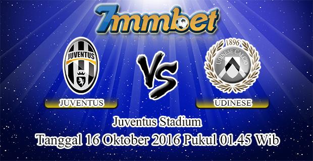 Prediksi Skor Juventus Vs Udinese 16 Oktober 2016