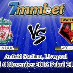 Prediksi Skor Liverpool Vs Watford 6 November 2016