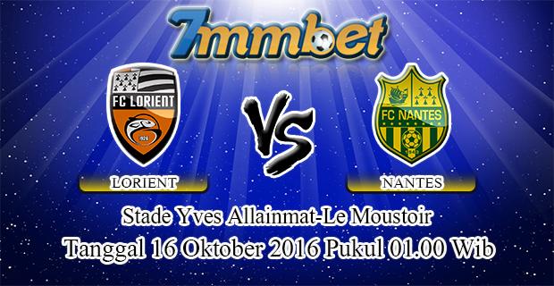 Prediksi Skor Lorient Vs Nantes 16 Oktober 2016