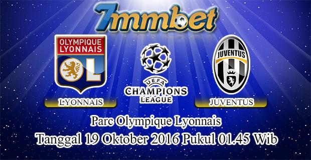 Prediksi Skor Lyon Vs Juventus 19 Oktober 2016