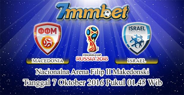 Prediksi Skor Macedonia Vs Israel 7 Oktober 2016