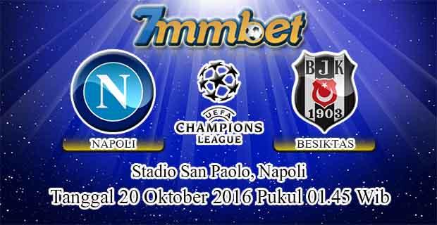 Prediksi Skor Napoli Vs Besiktas 20 Oktober 2016