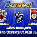 Prediksi Skor Nice Vs Lyon 15 Oktober 2016