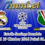 Prediksi Skor Real Madrid Vs Legia Warszawa 19 Oktober 2016