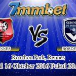 Prediksi Skor Rennes Vs Bordeaux 16 Oktober 2016