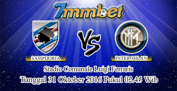 Prediksi Skor Sampdoria Vs Inter Milan 31 Oktober 2016