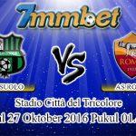 Prediksi Skor Sassuolo Vs AS Roma 27 Oktober 2016