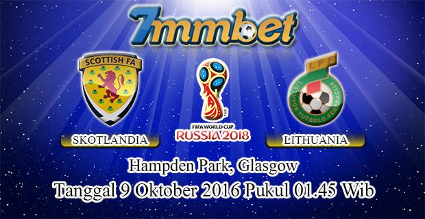 Prediksi Skor Skotlandia Vs Lithuania 9 Oktober 2016