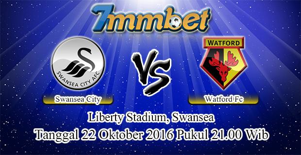 Prediksi Skor Swansea City Vs Watford 22 Oktober 2016