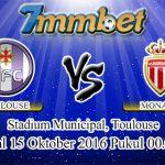 Prediksi Skor Toulouse Vs Monaco 15 Oktober 2016