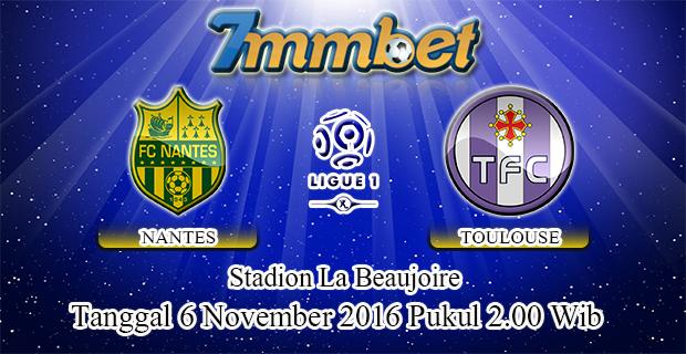 Prediksi Skor Nantes Vs Toulouse 6 November 2016