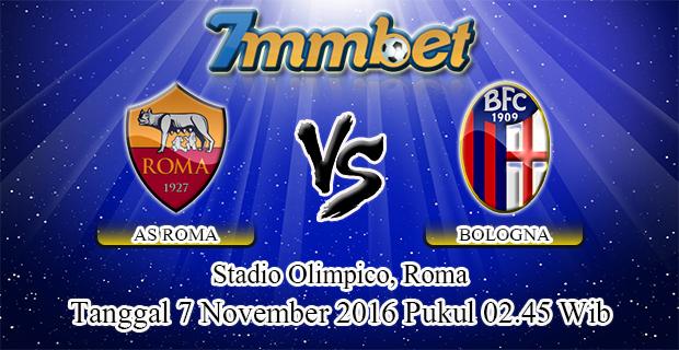 Prediksi Skor AS Roma Vs Bologna 7 November 2016