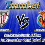 Prediksi Skor Athletic Bilbao Vs Villarreal 21 November 2016