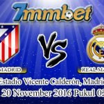 Prediksi Skor Atletico Madrid Vs Real Madrid 20 November 2016