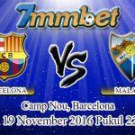 Prediksi Skor Barcelona Vs Malaga 19 November 2016