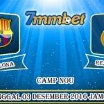 Prediksi Skor Barcelona Vs Real Madrid 03 Desember 2016