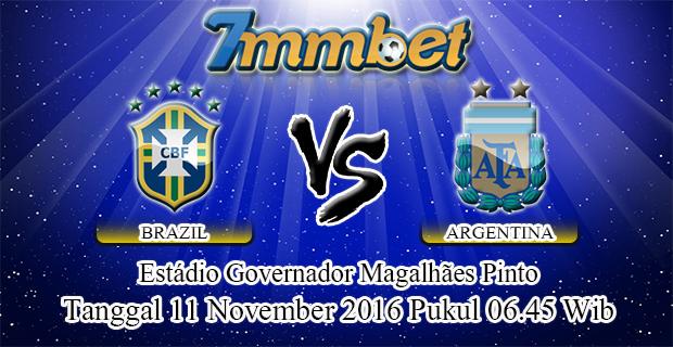 Prediksi Skor Brazil Vs Argentina 11 November 2016