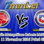 Prediksi Skor Colombia Vs Chile 11 November 2016