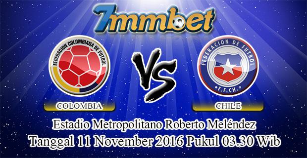 Prediksi Skor Colombia Vs Chile 11 November 2016