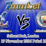Prediksi Skor Crystal Palace Vs Manchester City 19 November 2016