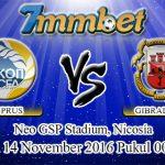 Prediksi Skor Cyprus Vs Gibraltar 14 November 2016