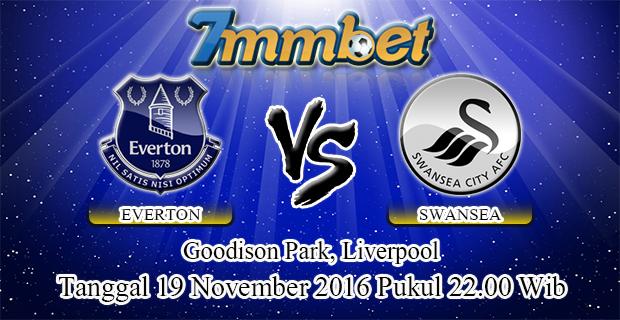 Prediksi Skor Everton Vs Swansea City 19 November 2016