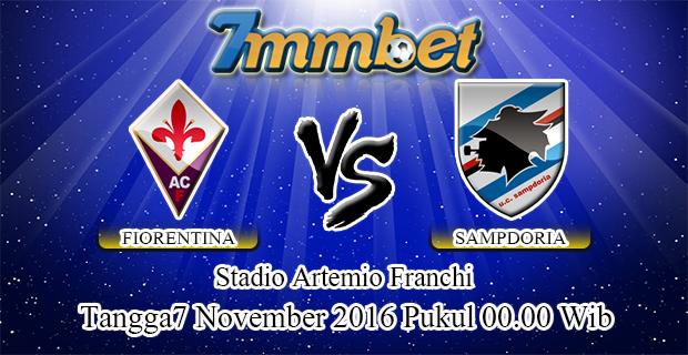 Prediksi Skor Fiorentina Vs Sampdoria 7 November 2016