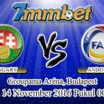 Prediksi Skor Hongaria Vs Andorra 14 November 2016