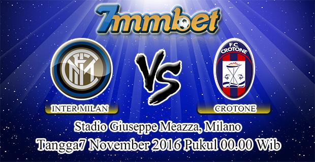 Prediksi Skor Inter Milan Vs Crotone 7 November 2016