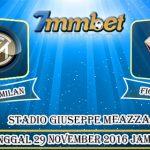 Prediksi Skor Inter Milan VS Fiorentina 29 November 2016